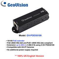 GeoVision GV-POEX0100 One-Port PoE Extender/Extensionupto600m