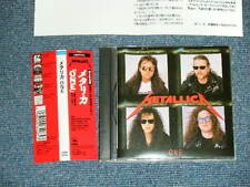 METALLICA Japan 1989 23DP-5438 NM CD+Obi ONE
