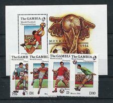 Gambia 621/24 Block 23 postfrisch / Fußball ...............................1/471