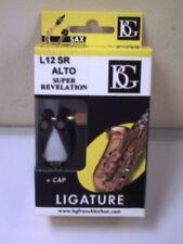ALTO SAXOPHONE LIGATURE AND CAP  BG Super Revelation L12SR for Eb SAX