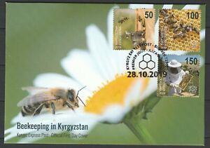 Kyrgyzstan 2019 Honeybees / Beekeeping FDC