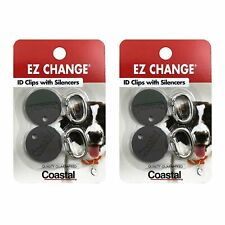 Coastal Pet Products EZ Change Dog ID Clip with Silencer | 2 ID Clips + 2...