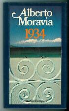 MORAVIA ALBERTO 1934 BOMPIANI 1982 OPERE DI ALBERTO MORAVIA