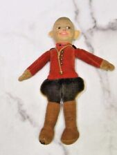 """Antique Norah Wellings Doll Royal Canadian Mounted Police Mountie Cloth 9"""""""