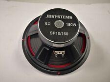 JBSYSTEMS SP10/150 woofer 26 cm 8 Ohm