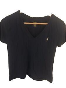womens ralph lauren t shirt large
