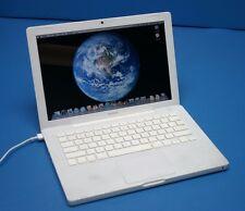 "Apple MacBook A1181 13"" 2008 Laptop-Core 2 Duo@2.1+GHz-4GB-250GB"