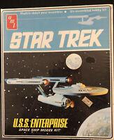 Star Trek USS Enterprise Vintage 1968 Copyright  AMT Model Kit S951 Sealed