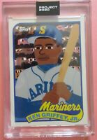 Topps Project 2020 #88 Ken Griffey Jr 1989 Card by Keith Shore with Box