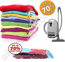 Vakuumbeutel Aufbewahrung Vakuum Vacuum Unterbettkommode Kleidersack ver. Größe