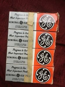 1 matched Quartett GE 6550 General Electics tested