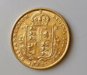 1892 Gold Half-Sovereign Victoria Jubilee Head Shield Reverse
