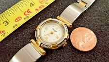 Authentic Appear Quartz Watch Girls Woman link band silvertone goldtone mixed