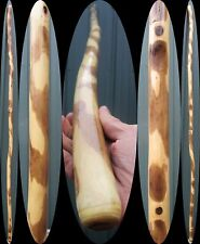 "79.5"" Maple Wood Trekking Pole Hiking Staff Walking Stick Cane Hand Carved Usa"