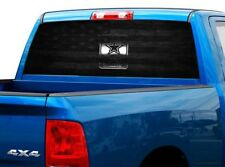 P484 US Army Rear Window Tint Graphic Decal Wrap Back Pickup Graphics