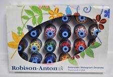 Robison Anton Top 24 Polyester Embroidery Thread Set