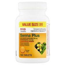 CVS Health Senna Natural vegetable laxative ingredient plus stool soften Tablets