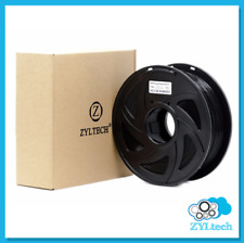 zyltech Filament PLA 1.75 mm 1 Kg/2.2 Lbs 3D Printer - Glossy Black