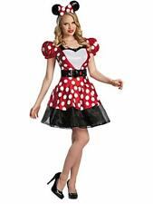 Women's Disney Glam Minnie Mouse Costume, Red/White/Black, Large/12-14