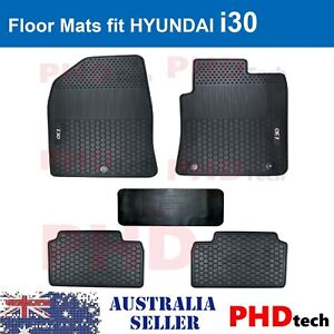 Hyundai i30 PD 2017-onwards Tailor Made All Weather Rubber Car Floor Mats 5 pic