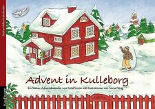 Advent in Kulleborg - Schwedischer Adventskalender mit Buch, Poster und Stickern
