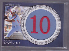 2012 Topps Retired Number Patches #AD Andre Dawson