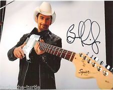 Brad Paisley  8 x 10 Autograph Reprint  Letter to Me  Whiskey Lullaby  Then