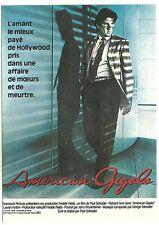 CPM - American Gigolo - Postcard ( NUGERON E 87 )