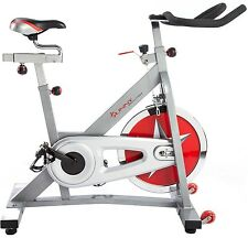 Sunny Fitness Pro Indoor Cycling Stationary Cycle Training Exercise Bike New