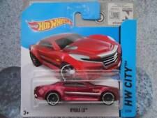 Coches de carreras de automodelismo y aeromodelismo rojos Hot Wheels