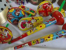 Vintage Party Noise Maker Toys New Years Eve Party Supplies Hats Decorations Lot