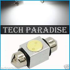 1x Ampoule 31mm C3W C5W C7W C10W LED Xenon 2W Blanc White plaque Navette Festoon