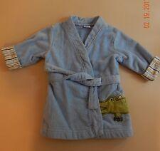 Carter's Baby Bath Robe Alligator 0-9 Months EUC -232
