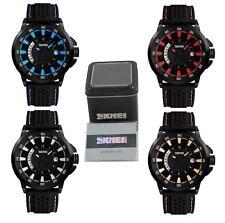 SKMEI Quartz Mens Fashion Date Waterproof Wrist Watch w/ Box & Warranty Card