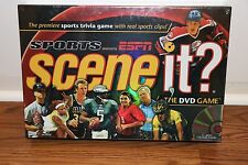 [NEW SEALED] ESPN SPORTS SCENE IT DVD BOARD GAME SPORT PARTY DAY NFL MLB NBA NHL