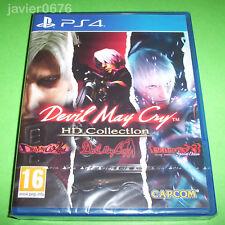 DEVIL MAY CRY HD COLLECTION PAL ESPAÑA NUEVO Y PRECINTADO PLAYSTATION 4 PS4