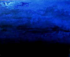 """Moon Full Clouds Dream Painting by West Davis  Acrylic20"""" New From Gallery Sale"""
