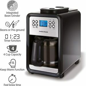 Morphy Richards Grind and Brew Bean to Cup Coffee Machine