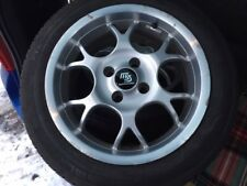 "Borbet 15"" alloy wheels 4 x 100 Mazda MX5 MK1"