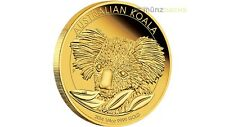 25 $Dólar KOALA AUSTRALIA 1/4 Onza Oro pp proof 2014