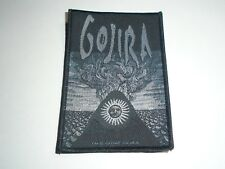 GOJIRA MAGMA WOVEN PATCH
