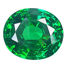 100.10 cts SPARKLING EMERALD GREEN OVAL SHAPE DIAMOND SIMULATED GEM