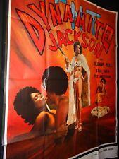 blaxploitation DYNAMITE JACKSON Jeannie Bell  affiche cinema 1974