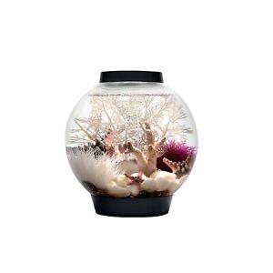 biOrb CLASSIC 15 Aquarium with LED - 4 gallon, Black LED Lighting