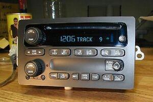 OEM 2003-2006 CHEVY Suburban Silverado Tahoe GMC Yukon Sierra CD Player Radio