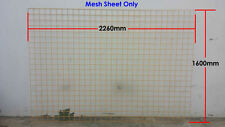 Steel Wire Mesh Sheet for Temporary Fencing - Safety Yellow (Mesh Only)
