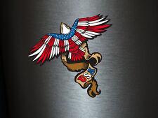 1 x Aufkleber Adler USA New York America Amerika Vogel Freiheit Sticker Tuning