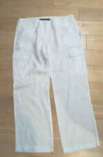 Linen Cargos 28L Trousers for Women