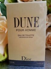 "❤️DIOR DUNE POUR HOMME CHRISTIAN DIOR VINTAGE,90"" ,FIRST EDITION 100 ml 3.4 OZ."