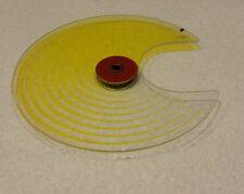 Martin Mac600 wash yellow color wheel